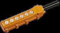 Пульт управления ПКТ-63 на 6 кнопок IP54 ИЭК