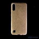Чехол TPU Shine Samsung A10 gold, фото 6