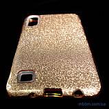 Чехол TPU Shine Samsung A10 gold, фото 7