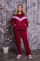 Женский спортивный костюм больших размеров с 48 по 82 размер, фото 3