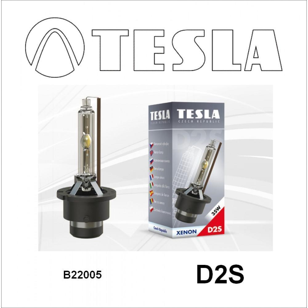 Ксеноновая лампа Tesla D2S 4300К 85V, 35W B22005