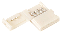 Коннектор 10шт RGB 10 мм (разъем - разъем) IEK