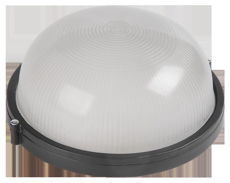 Светильник НПП1301 черный/круг 60Вт IP54 ИЭК