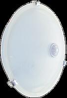 Светильник НПО3231Д белый 2х25 с датчиком движения ИЭК