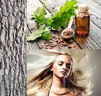 Натуральный шампунь для укрепления волос на дубовом роме