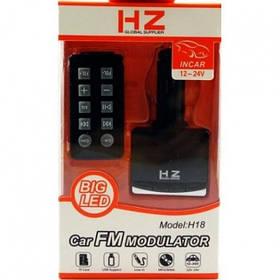 Автомобильный Top Trends FM-трансмиттер HZ H18