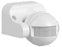 Датчик движения ДД 009 белый, макс. нагрузка 1100Вт, угол обзора 180град., дальность 12м, IP44, ИЭК