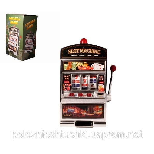 """Игровой автомат """"Однорукий бандит"""" 24,5х15,5х37,5см"""