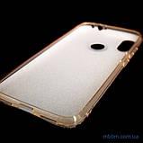 Чехол TPU Shine Xiaomi Redmi Note 7 gold, фото 2