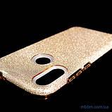 Чехол TPU Shine Xiaomi Redmi Note 7 gold, фото 3