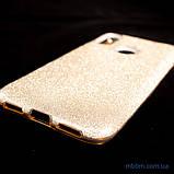 Чехол TPU Shine Xiaomi Redmi Note 7 gold, фото 4