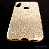 Чехол TPU Shine Xiaomi Redmi Note 7 gold, фото 6