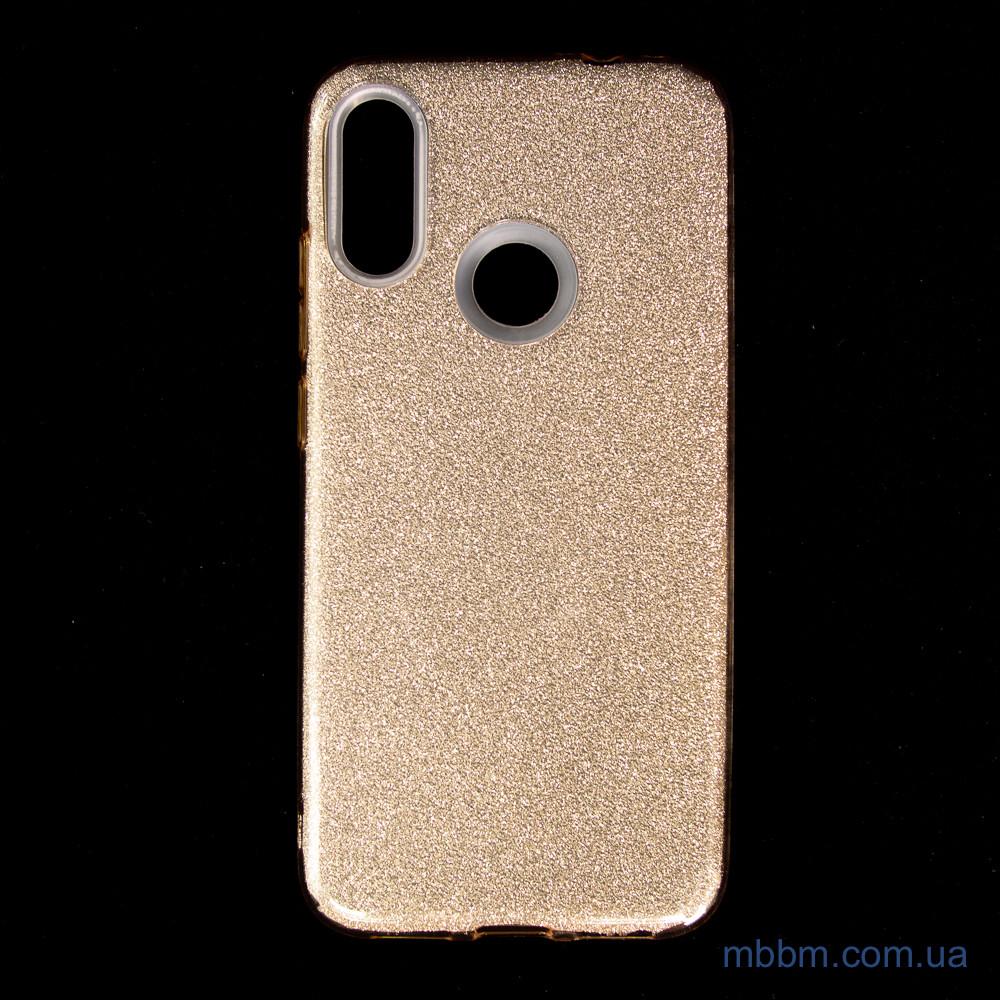 Чехол TPU Shine Xiaomi Redmi Note 7 gold