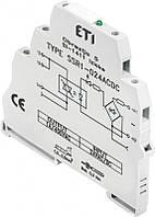 Реле интерфейсное SSR1-230 ACDC (тиристорное, 1NO, 1.2A AC1, 400V AC)