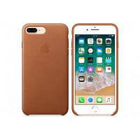Чехол для моб. телефона Apple iPhone 8 Plus / 7 Plus Leather Case - Saddle Brown (MQHK2ZM/A)