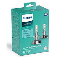 LED лампы Philips Ultinon H7 +160% 6200K 11972ULWX2, фото 1