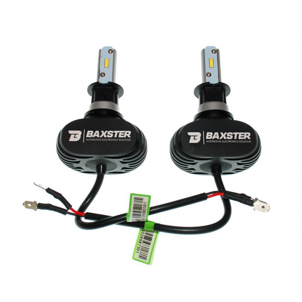LED лампы Baxster S1 H3 6000K 4000Lm (2 шт)
