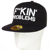 Кепка с прямым козырьком F..kin Problems, фото 1
