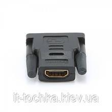 Адаптер cablexpert a-hdmi-dvi-2 hdmi-dvi, m/f позол. контакты