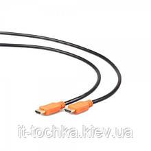 Кабель cablexpert cc-hdmi4l-1m hdmi v.1.4 с позолоч. коннек., 1м