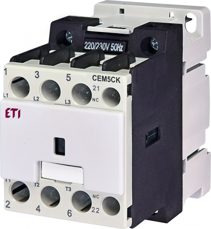 Контактор CEM 5CK.01 (5 кВАр, 400-440V)