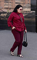 Классические женские брюки в деловом стиле с 48 по 82 размер, фото 2