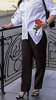 Классические женские брюки в деловом стиле с 48 по 82 размер, фото 3