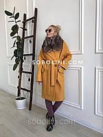 Отзыв от  покупателя, пальто с чернобуркой, фото 1