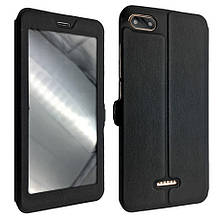 Чехол-книжка DK-Case кожа с пластиком Flip Cover Magnetic для Xiaomi Redmi 6A (black)