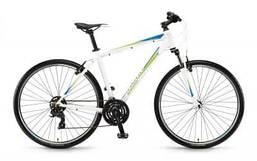 """Гибридный велосипед Winora Senegal men 28"""", рама 51см, бело-сине-лаймовый, 2019 (ST)"""