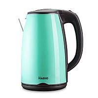 Чайник кухонный MAGIO MG-975 зеленый чайник-термос электрический