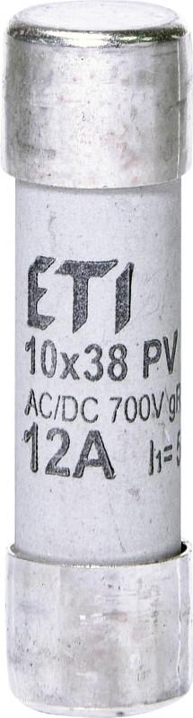 Предохранитель CH 10x38 gR-PV  12A 700V (30kA)