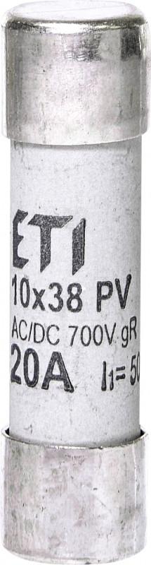 Запобіжник CH 10x38 gR-PV 20A 700V (30kA)