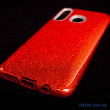 Чехол TPU Shine Samsung A20/A30 red, фото 3
