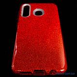 Чехол TPU Shine Samsung A20/A30 red, фото 5