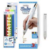 3D - ручка 3Doodler Create PLUS для проф. использования - БЕЛАЯ (75 cтержней) (8CPSWEEU3E)