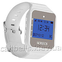 Пейджер-часы персонала RECS R-02 White Watch Pager