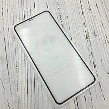 Защитное стекло 5D купол for Apple iPhone XS face (black)