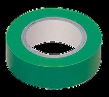 Изолента 0,13х15 мм зеленая 20 метров ИЭК