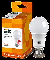 Лампа светодиодная ECO A60 шар 13Вт 230В 3000К E27 IEK