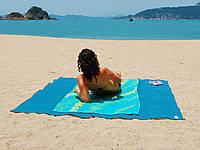 Подстилка для моря Песок 200 х 200 АНТИПЕСОК , фото 1