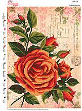 Вышивка бисером Улюблені троянди  №114