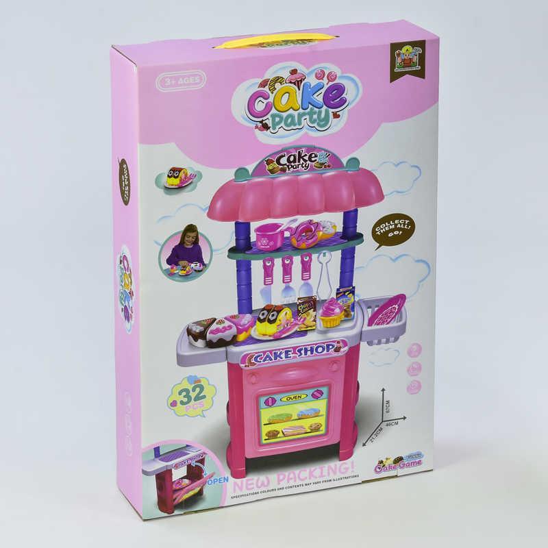 """Игровой набор """"Магазин сладостей"""" 36778-110 (18) продукты на липучках, в коробке"""