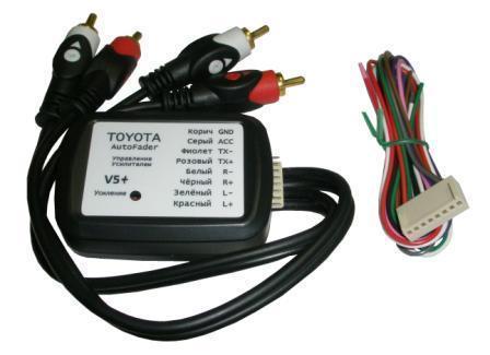Адаптер включения штатного усилителя Toyota Auto Fader