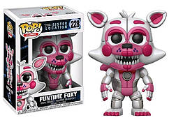 Фигурка Funko Pop Five Nights at Freddy Sister Location Пять ночей с Фредди Funtime Foxy 10 см  FF228