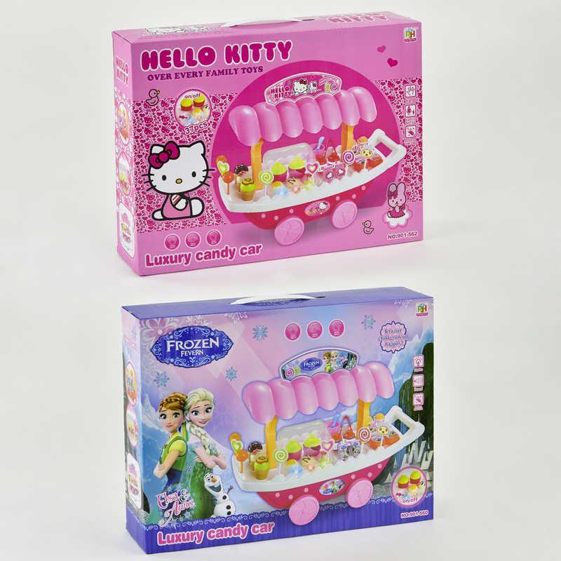 """Игровой набор """"Магазин сладостей"""" 901-560/562 (18) 2 вида, свет, звук, на батарейке, в коробке"""
