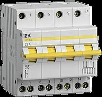 Выключатель-разъединитель трехпозиционный ВРТ-63 4P 32А IEK