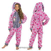 Теплая детская пижама Кигуруми LOL для девочки ростом 112-159 см