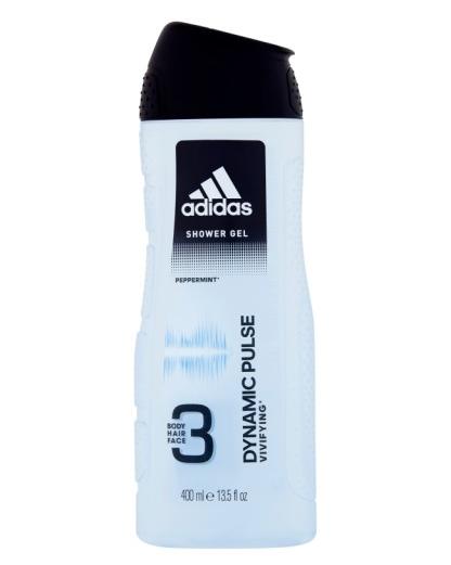 """Гель для душа мужской 3 в 1 Adidas """"Dynamic Pulse"""" (400мл.)"""