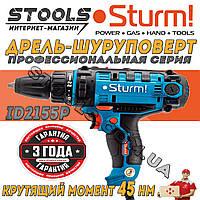 ✅ Дрель-шуруповерт сетевой Sturm ID2155P